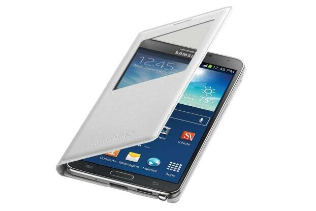 Galaxy Note 3 N9005 S-View Cover White